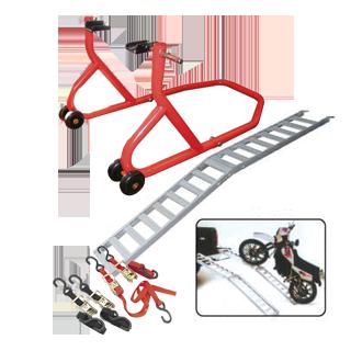 Accesorii pentru depozitarea și îngrijirea motocicletei